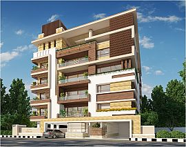 Flats for sale in Nandi Durga Road , Bangalore - Residential